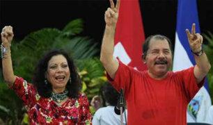 Nicaragua: primera dama será candidata a vicepresidencia