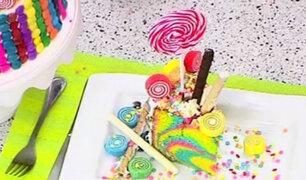 Candy Cake: Miguel Roque nos enseña a preparar el pastel de moda