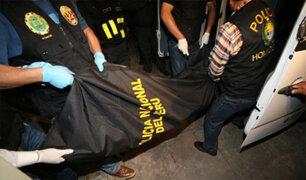 Delincuentes matan a mujer y hieren a mototaxista en Tarma