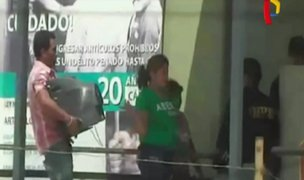 Tumbes: familiares de presos ingresan televisores a penal