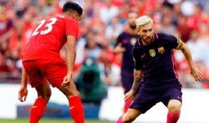 Bloque Deportivo: Barcelona cayó 4-0 en amistoso ante Liverpool