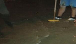Chorrillos: decenas de viviendas son afectadas por desborde de río Surco