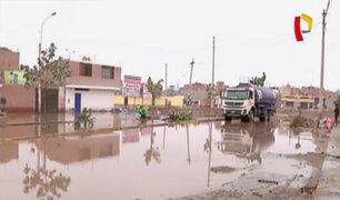 Desborde de río Surco inunda al menos 40 casas