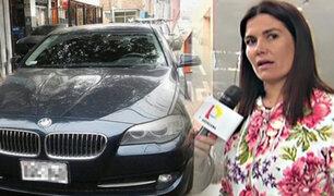 Daniela Cillóniz recuperó el auto que le robaron