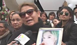 San Luis: En velatorio los familiares de mujer asesinada claman justicia