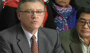Ministro Alfonso Grados se reunió con trabajadores de la CGTP