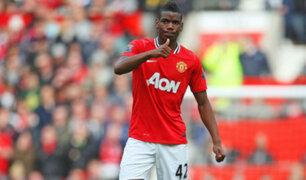 Bloque Deportivo: Manchester United hizo oficial fichaje de Pogba