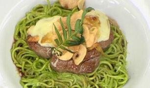 Karel D'Onofrio nos prepara un delicioso Lomo Sabandía