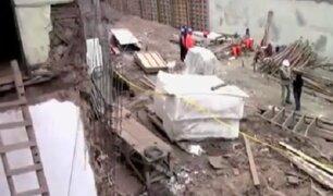 Centro de Lima: viviendas de casona colapsan y perjudican a 13 familias