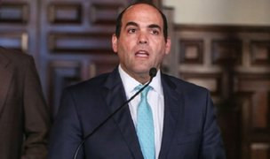 Fernando Zavala respaldó a ministro Jaime Saavedra tras denuncia de corrupción