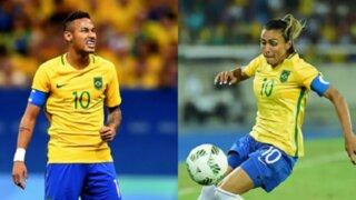 Bloque Deportivo: hinchas brasileños piden a Marta en lugar de Neymar