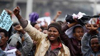 Etiopía: más de 100 muertos dejan protestas contra el gobierno