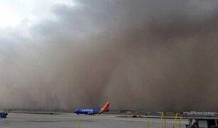 EEUU: tormenta de arena cubre el cielo de Arizona