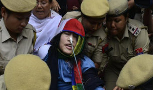 India: activista finaliza huelga de hambre después de 16 años