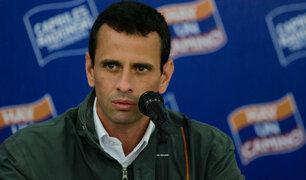 Venezuela: Henrique Capriles habría recibido US$3 millones de Odebrecht