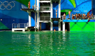 El misterio del agua verde en las piscinas de los JJ.OO. de Río