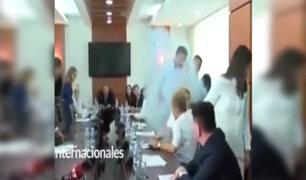 Kosovo: diputado lanza gas lacrimógeno en parlamento