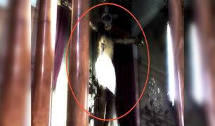 VIRAL: video muestra supuesta imagen de Cristo que abre los ojos