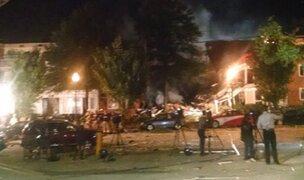 EEUU: explosión en edificio deja dos muertos y 30 heridos