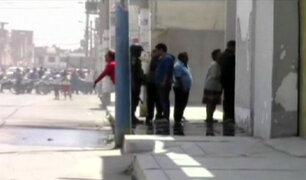 Chiclayo: familia se enfrenta a policía durante desalojo