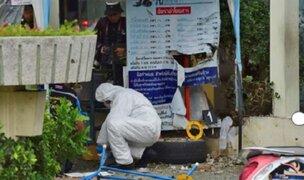 Tailandia: múltiples atentados dejan al menos cuatro muertos y 30 heridos