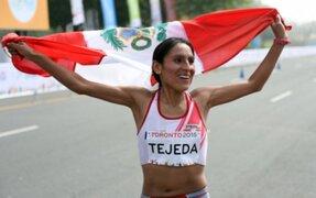 Río 2016: Gladys Tejeda entre las 15 mejores maratonistas del mundo