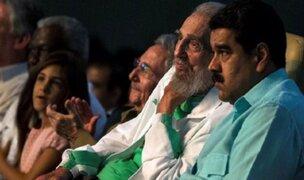 Fidel Castro reapareció en público para celebrar sus 90 años