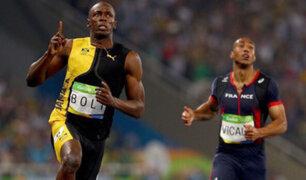 Río 2016: Usain Bolt ganó la final de 100 metros planos
