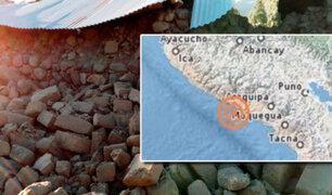 Arequipa: sismo de 5.2 grados dejó cuatro muertos, treinta heridos y casi mil damnificados