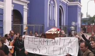 Lurín: dan último adiós a hija de Susana Villarán