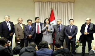 Fernando Zavala se reunió con parlamentarios de PPK y APP