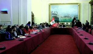 Congreso instaló seis comisiones parlamentarias