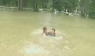 EEUU: lluvias torrenciales dejan al menos 6 muertos y miles de damnificados