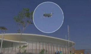 Brasil: 7 heridos tras impacto deue  cámara aérea en parque de Río de Janeiro