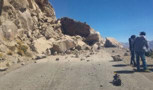 Sismo en Arequipa: sigue llegando ayuda a Caylloma