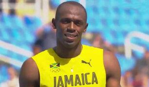 Río 2016: Usain Bolt clasificó a semifinales en 200 metros planos