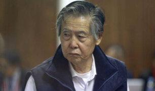 Alberto Fujimori fue internado en clínica por una hernia en la columna
