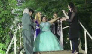 Israel: Joven con habilidades diferentes se casa sola en peculiar boda