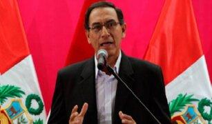 Ministro de Transportes se pronunció tras fuerte sismo en Arequipa