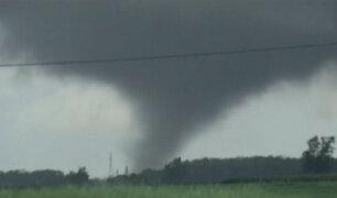 EEUU: tornado provoca lluvias e inundaciones en Indiana
