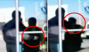 Huancayo: Un fiscalizador municipal golpeó a una mujer en operativo