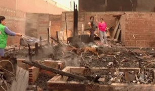 Callao: Incendio consumió viviendas en AA.HH. Acapulco