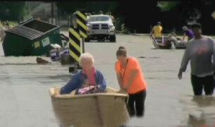 EEUU: Intensas lluvias destruyen más de 40 mil viviendas