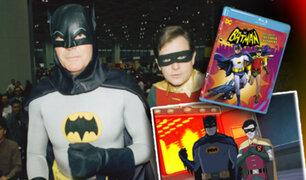 Adam West y Burt Ward retomarán sus papeles como Batman y Robin