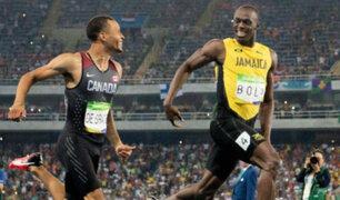 Río 2016: La conversación más rápida del mundo entre Bolt y De Grasse [VIDEO]