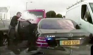 Reino Unido: Sujeto fue detenido tras varias horas de persecución policial