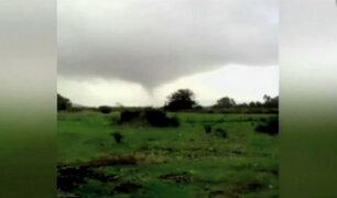 Chile: inusual temporal provoca daños en infraestructuras