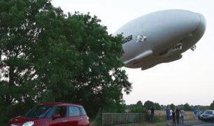 Airlander 10: Si la ve por el cielo no se alarme, es la aeronave más grande del mundo