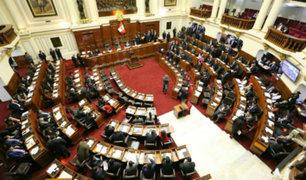 Congreso continúa debate para definir voto de confianza
