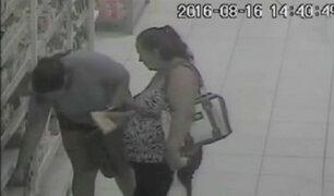 Piura: cámaras de seguridad captan robo en supermercado